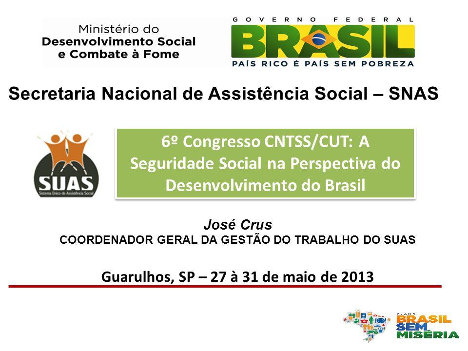 Secretaria Nacional de Assistência Social – SNAS
