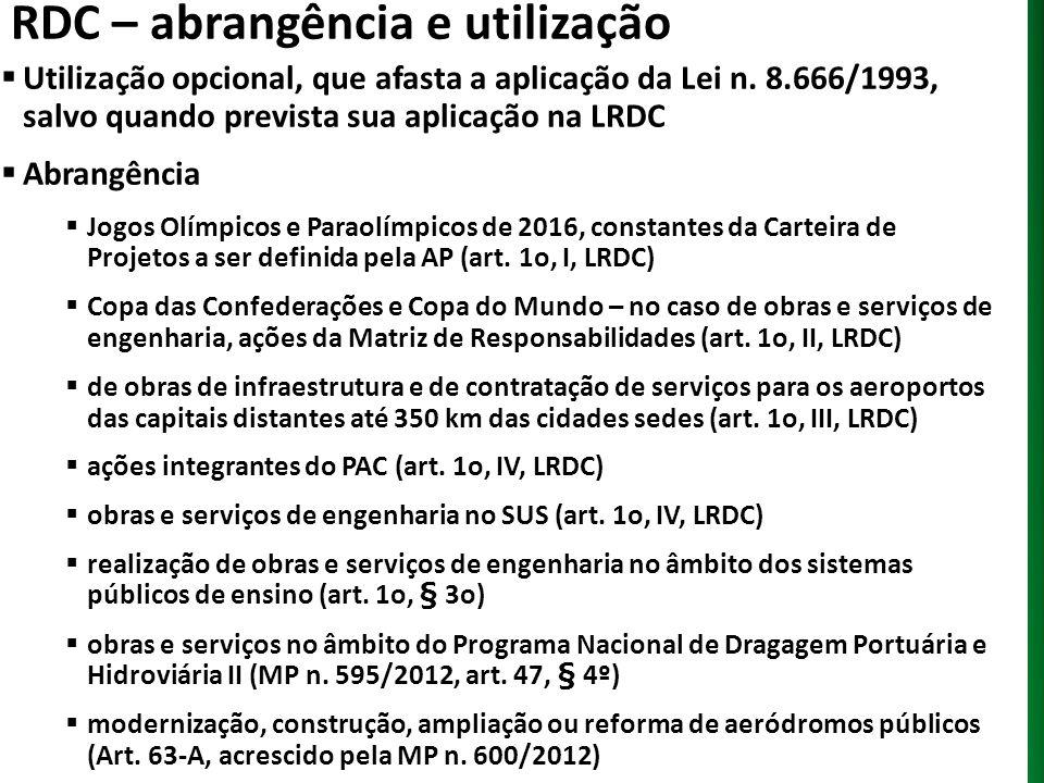 RDC – abrangência e utilização