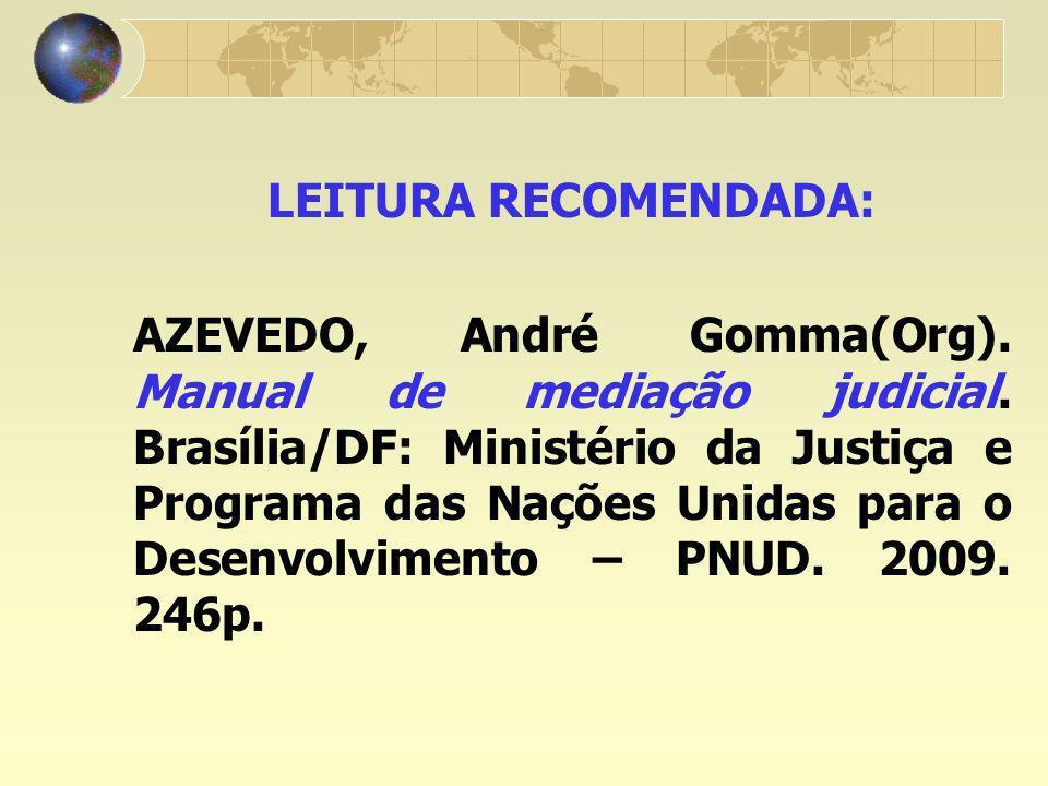 LEITURA RECOMENDADA: