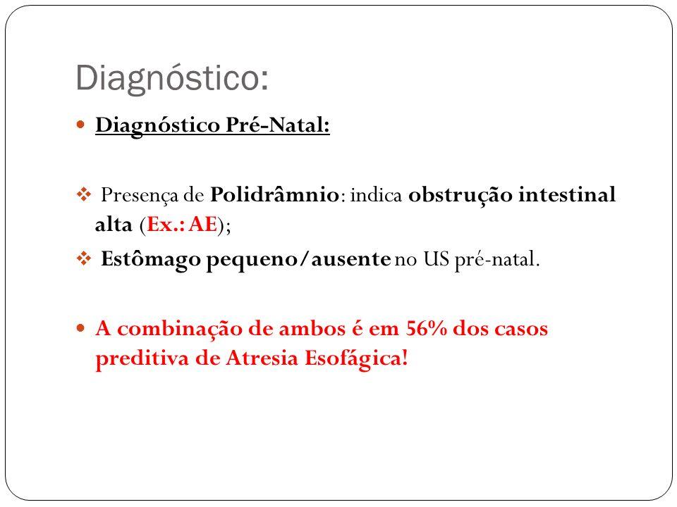Diagnóstico: Diagnóstico Pré-Natal: