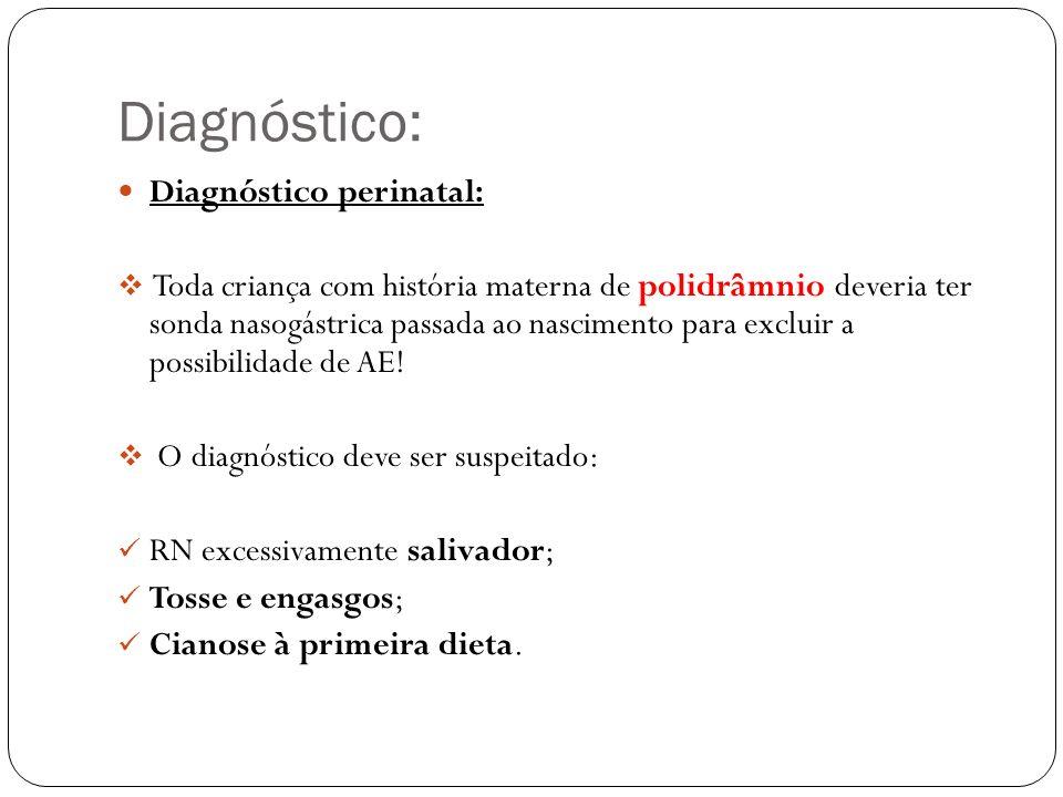 Diagnóstico: Diagnóstico perinatal: