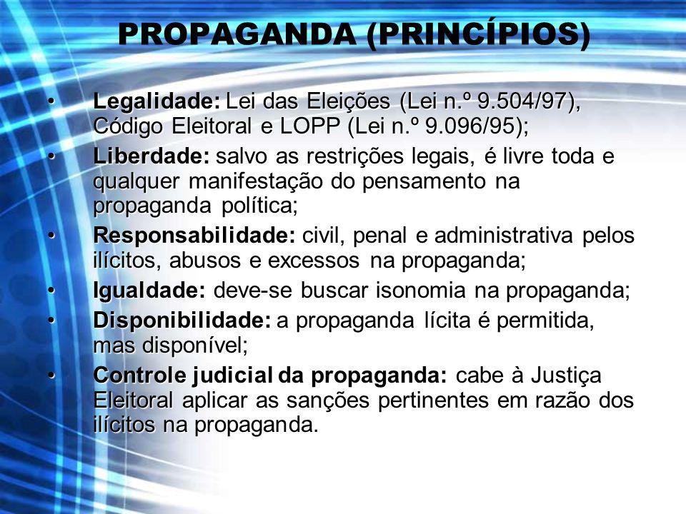 PROPAGANDA (PRINCÍPIOS)