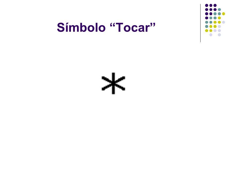 Símbolo Tocar