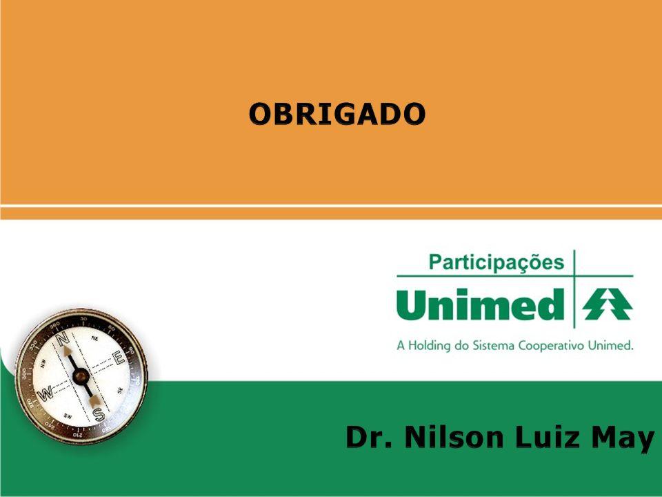 OBRIGADO Dr. Nilson Luiz May