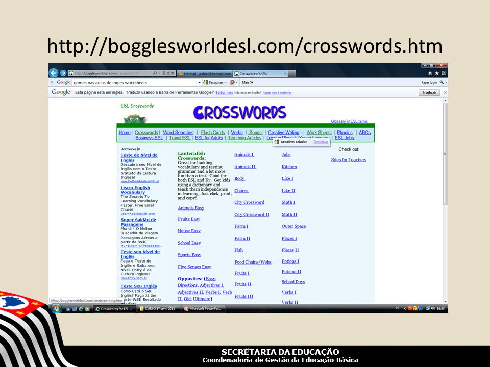 http://bogglesworldesl.com/crosswords.htm