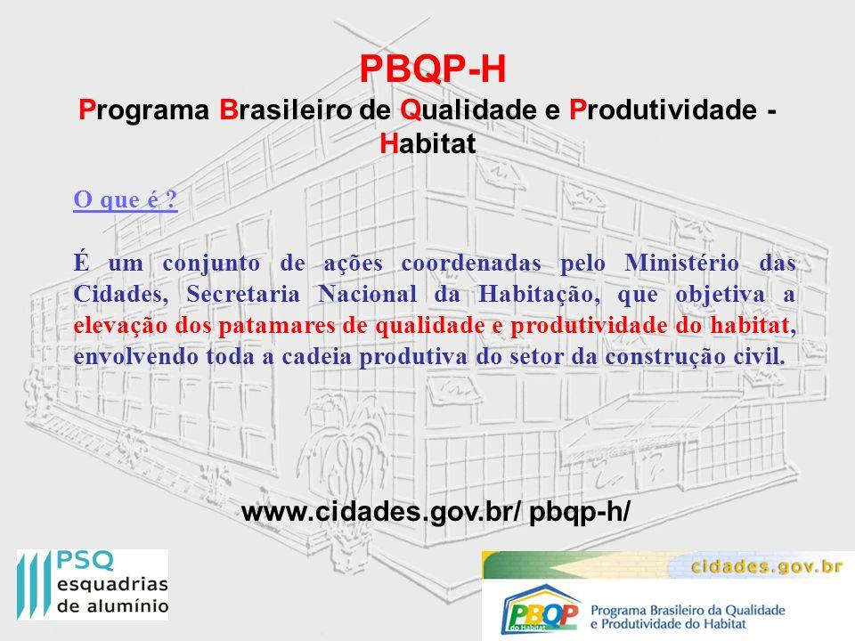 Programa Brasileiro de Qualidade e Produtividade - Habitat