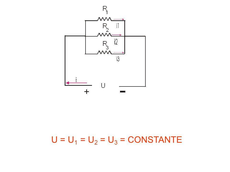 U = U1 = U2 = U3 = CONSTANTE