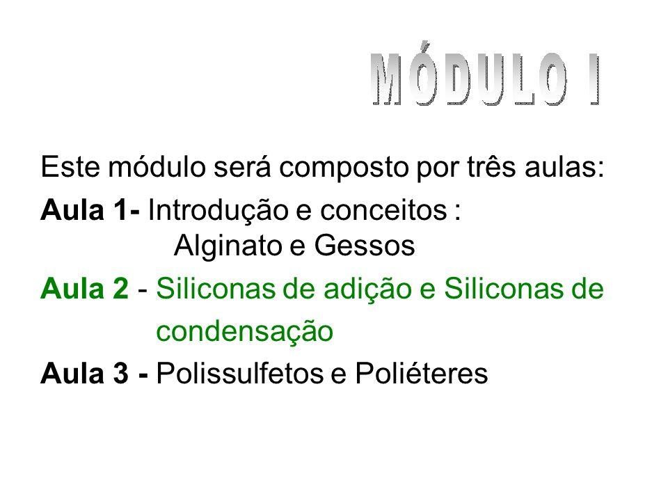 Este módulo será composto por três aulas: