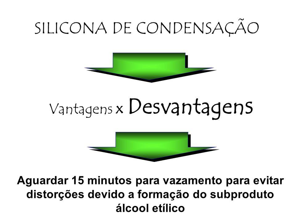 SILICONA DE CONDENSAÇÃO