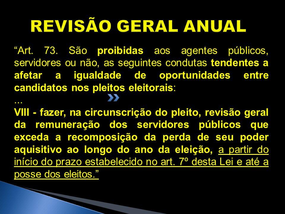 REVISÃO GERAL ANUAL