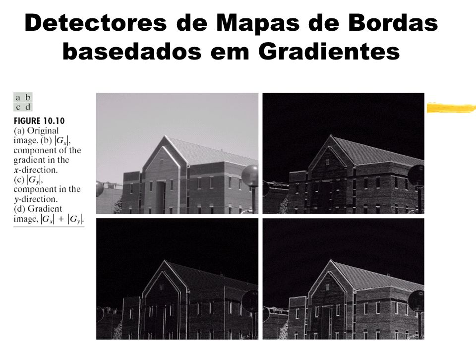 Detectores de Mapas de Bordas basedados em Gradientes
