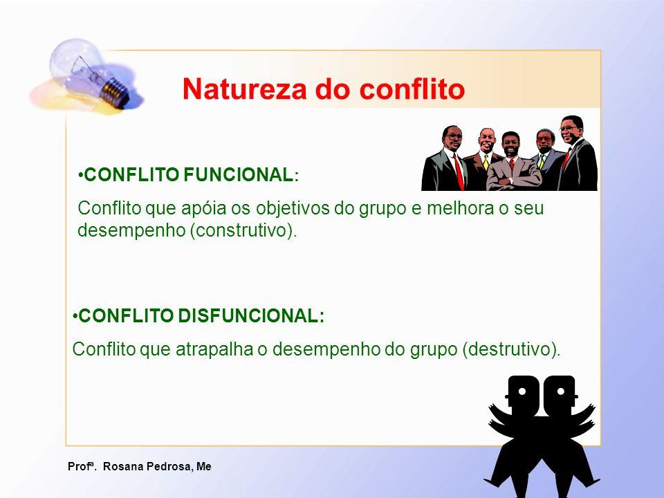 Natureza do conflito CONFLITO FUNCIONAL: