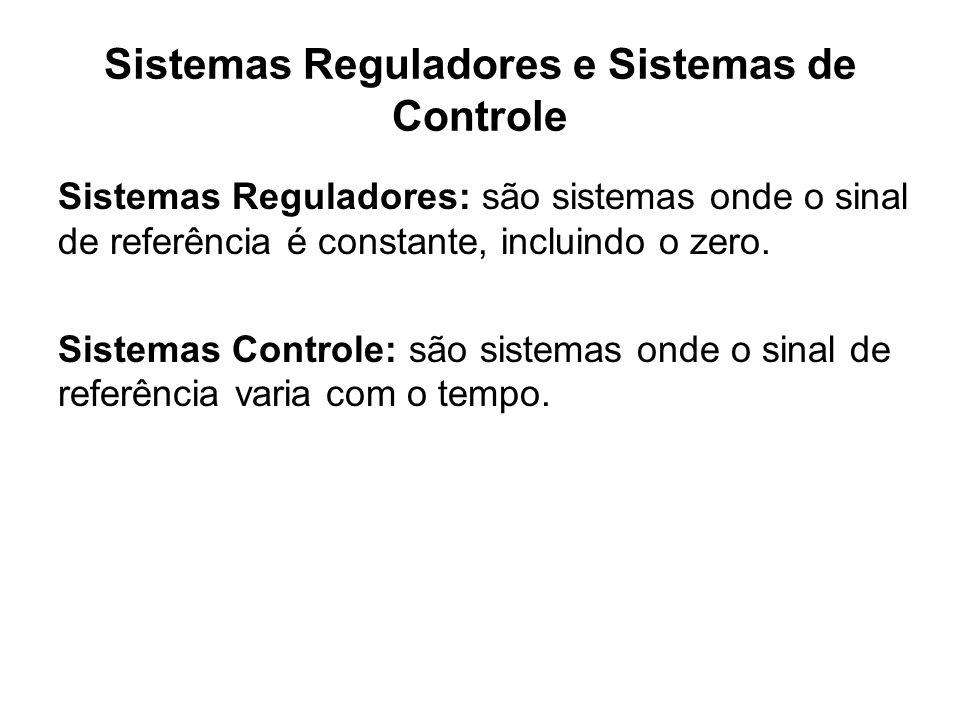 Sistemas Reguladores e Sistemas de Controle