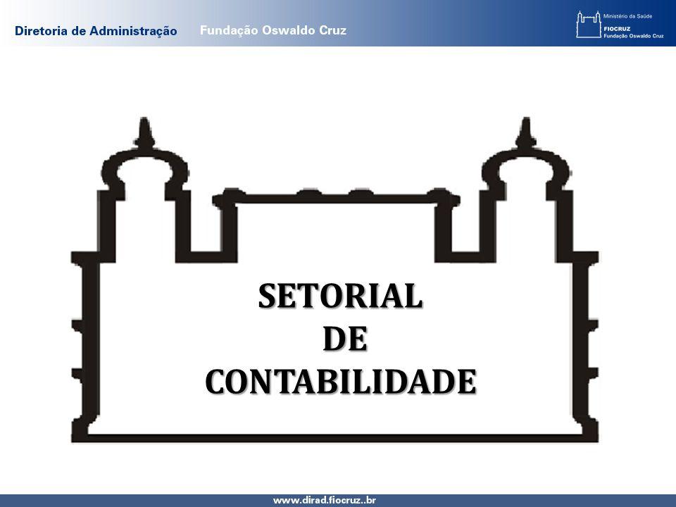 SETORIAL DE CONTABILIDADE