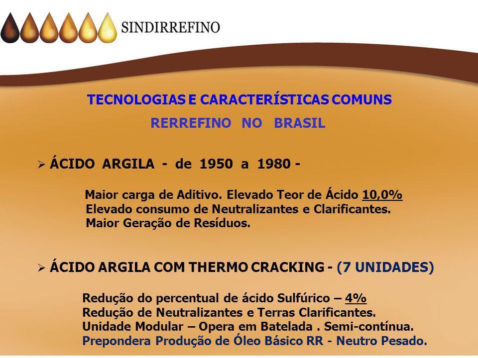 TECNOLOGIAS E CARACTERÍSTICAS COMUNS