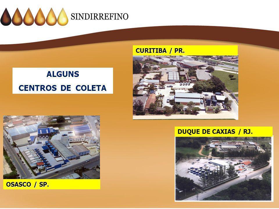 ALGUNS CENTROS DE COLETA