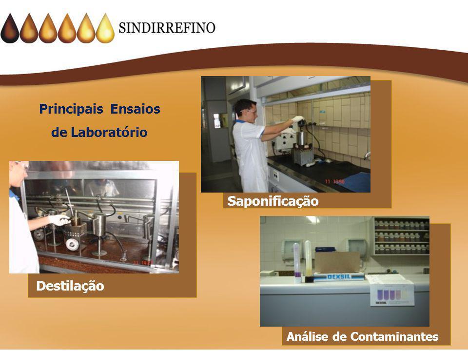Principais Ensaios de Laboratório