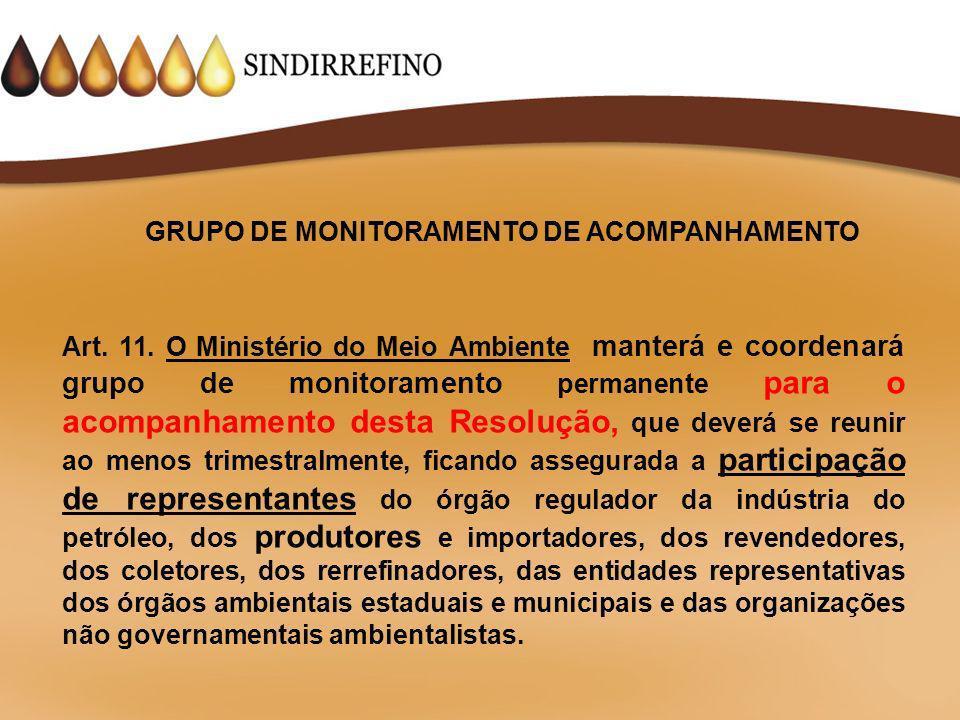 GRUPO DE MONITORAMENTO DE ACOMPANHAMENTO