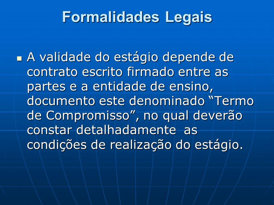 Formalidades Legais