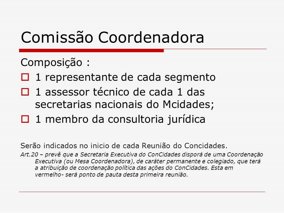 Comissão Coordenadora