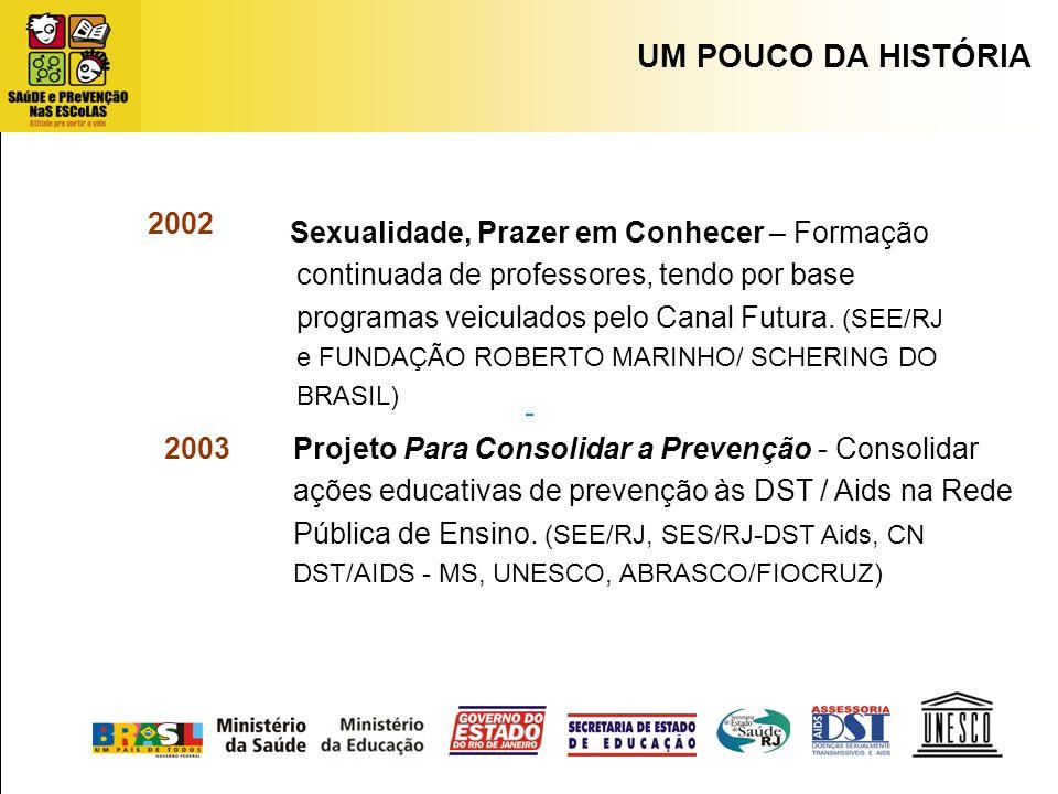 UM POUCO DA HISTÓRIA 2002.