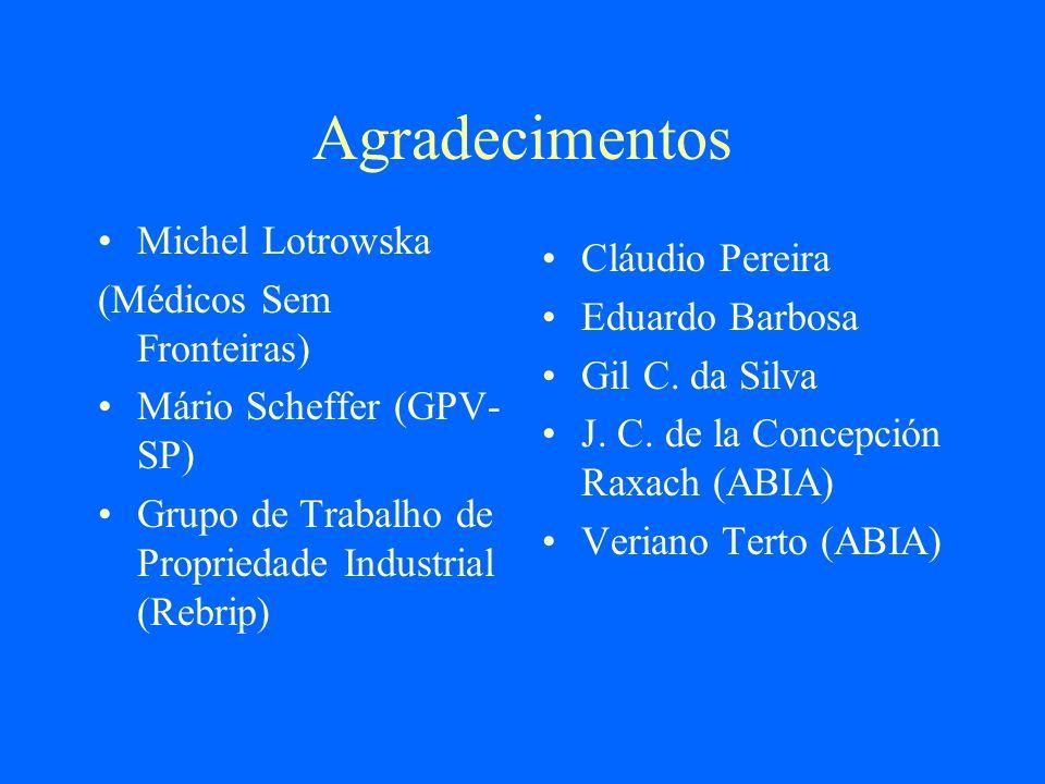 Agradecimentos Michel Lotrowska Cláudio Pereira