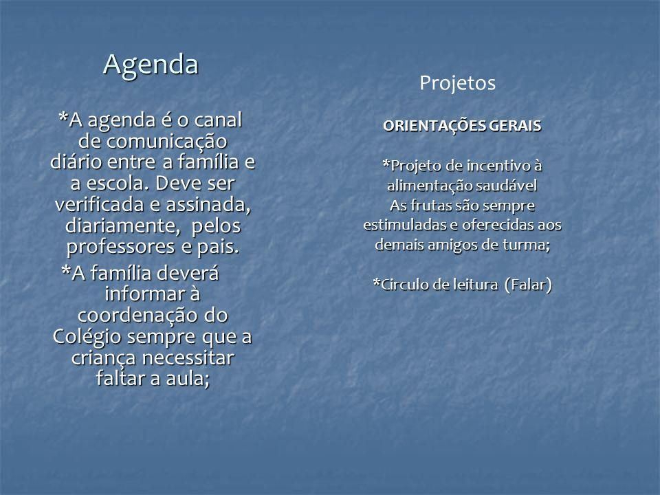 Agenda Projetos.