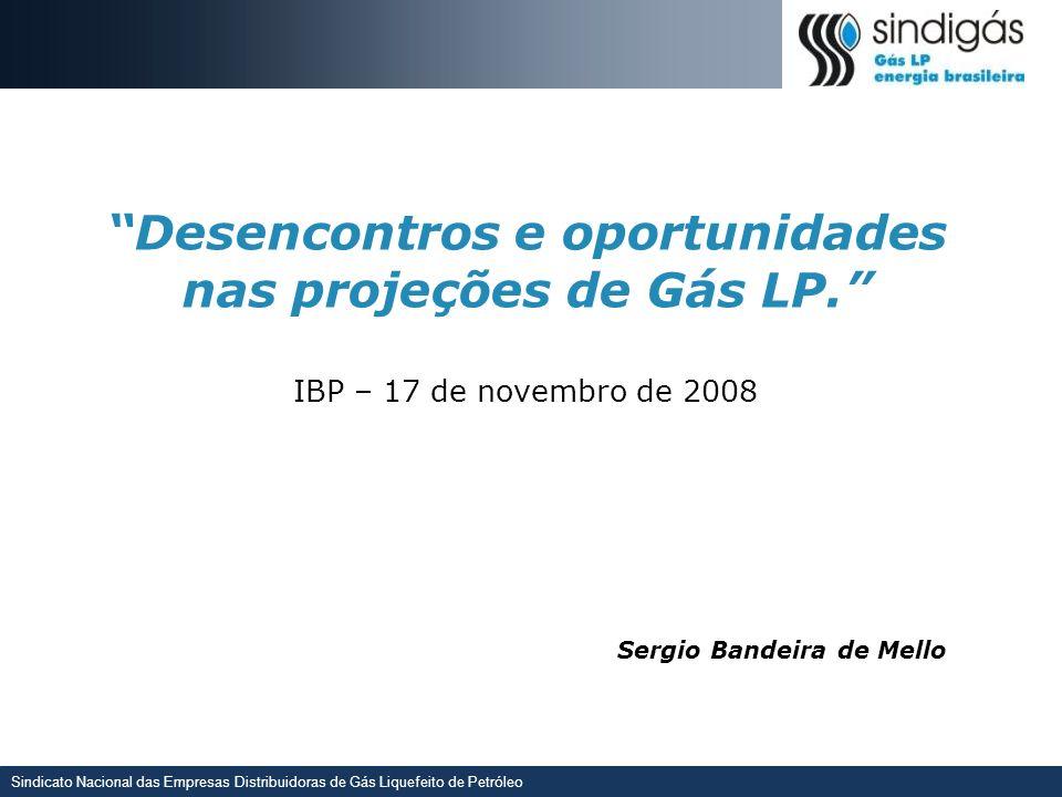 Desencontros e oportunidades nas projeções de Gás LP.
