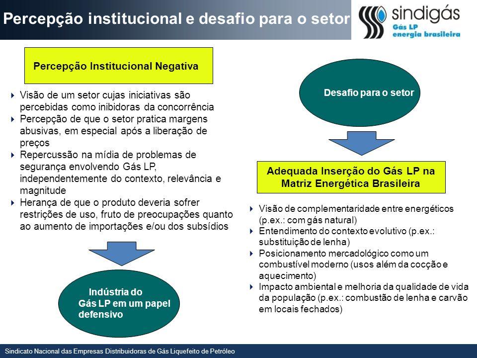 Adequada Inserção do Gás LP na Matriz Energética Brasileira