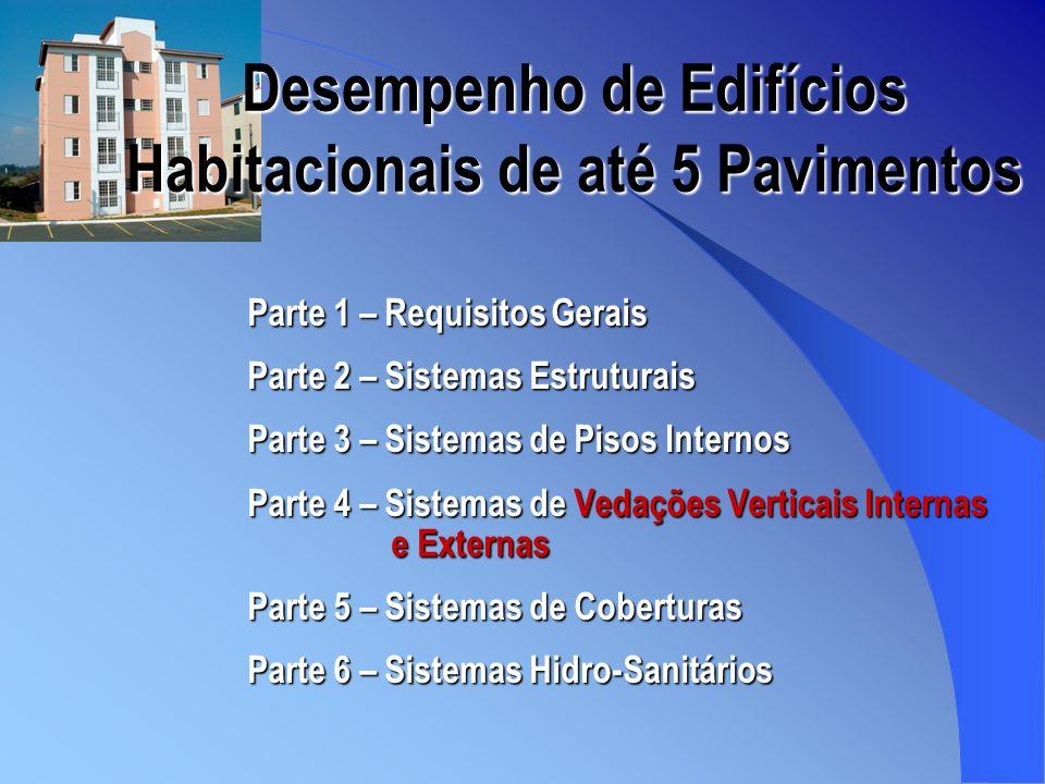 Desempenho de Edifícios Habitacionais de até 5 Pavimentos