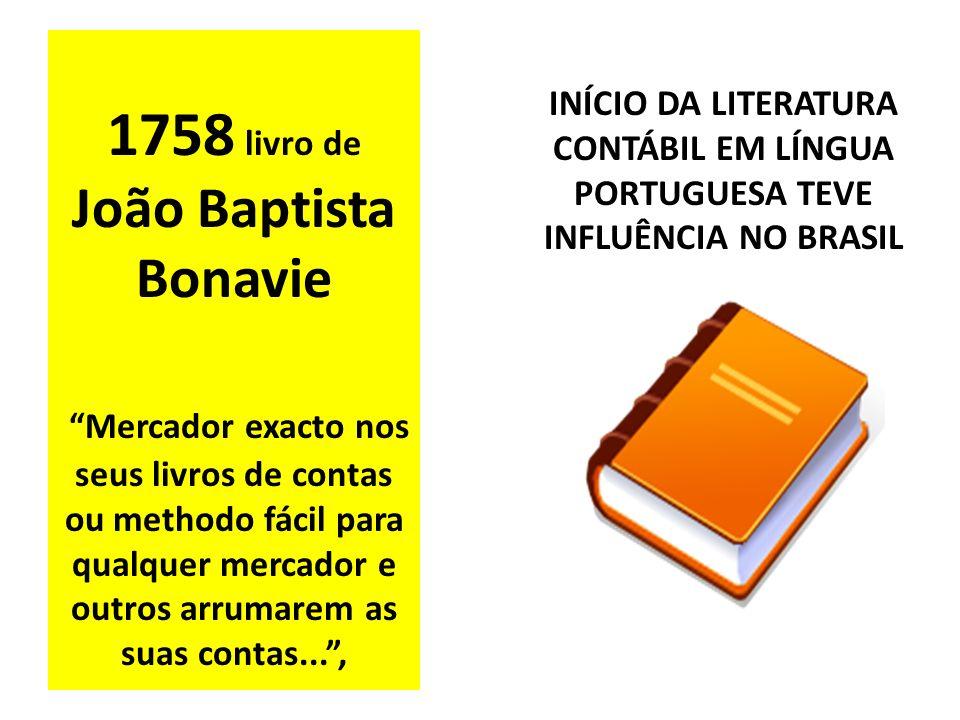 1758 livro de João Baptista Bonavie