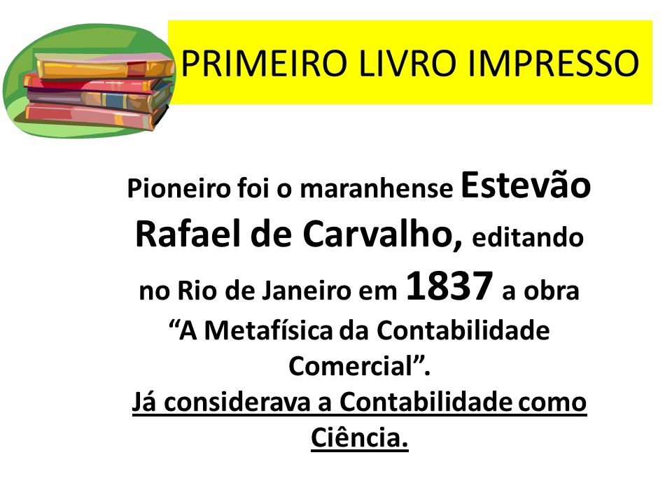 PRIMEIRO LIVRO IMPRESSO