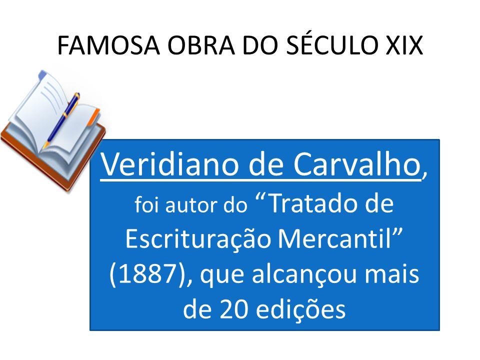 FAMOSA OBRA DO SÉCULO XIX
