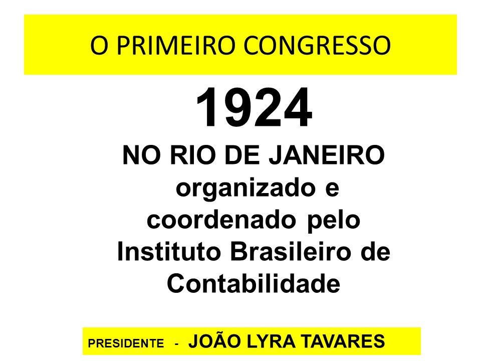 organizado e coordenado pelo Instituto Brasileiro de Contabilidade
