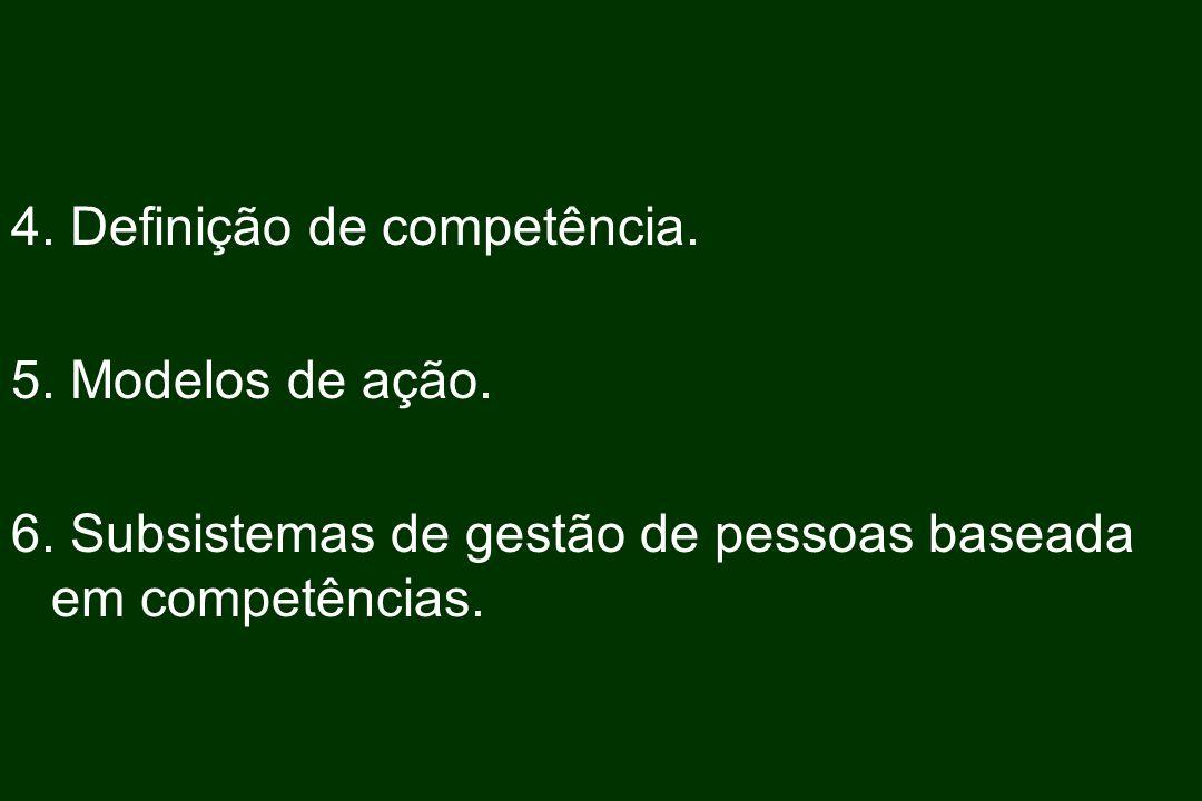 4. Definição de competência.