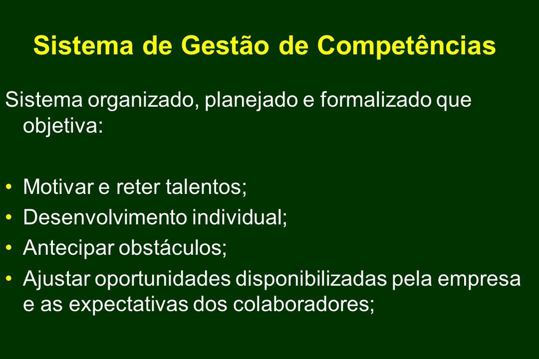 Sistema de Gestão de Competências