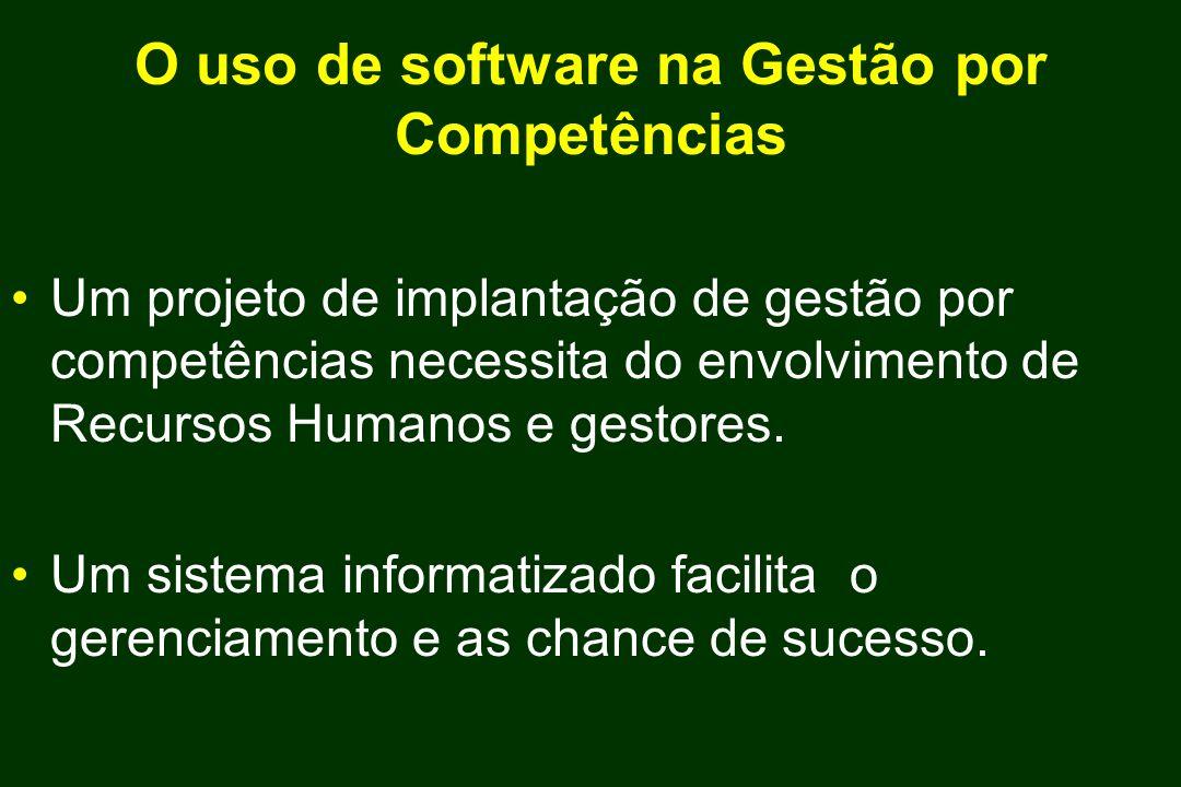 O uso de software na Gestão por Competências