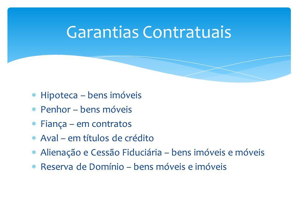 Garantias Contratuais