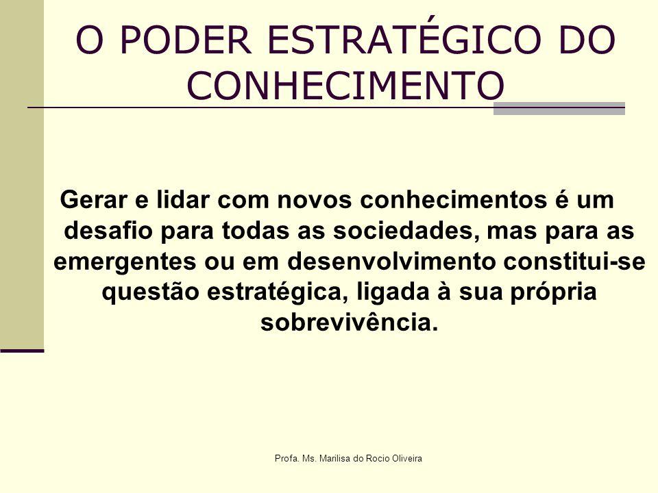O PODER ESTRATÉGICO DO CONHECIMENTO