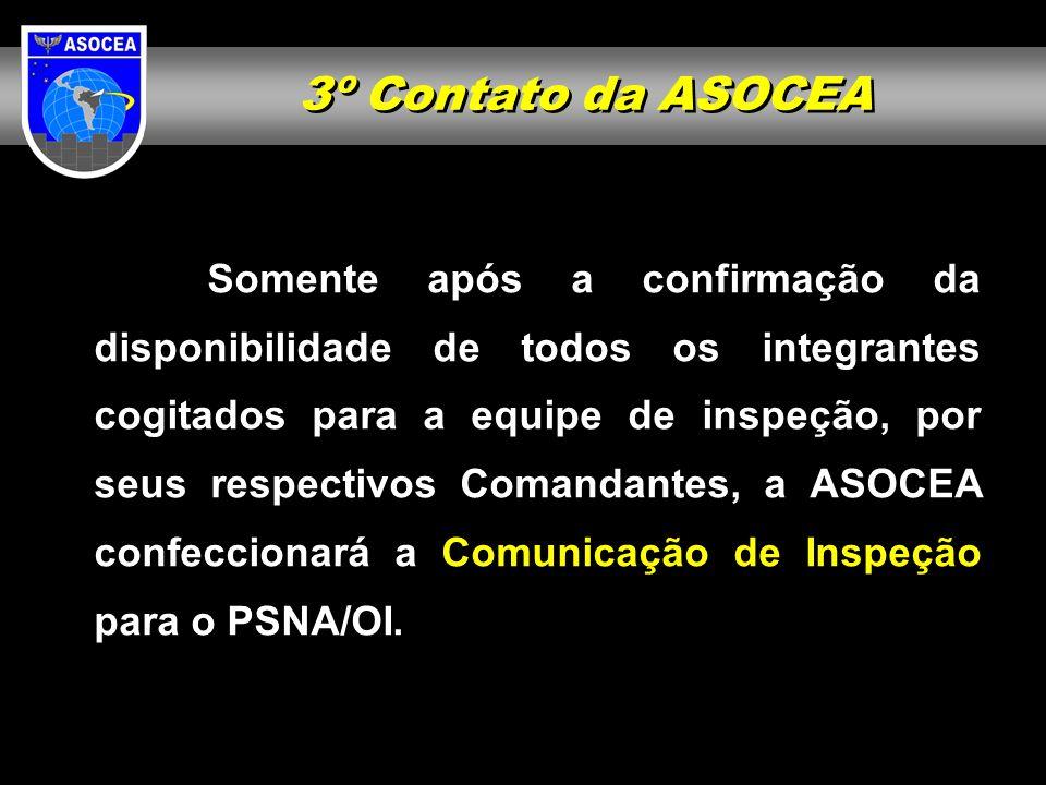 3º Contato da ASOCEA