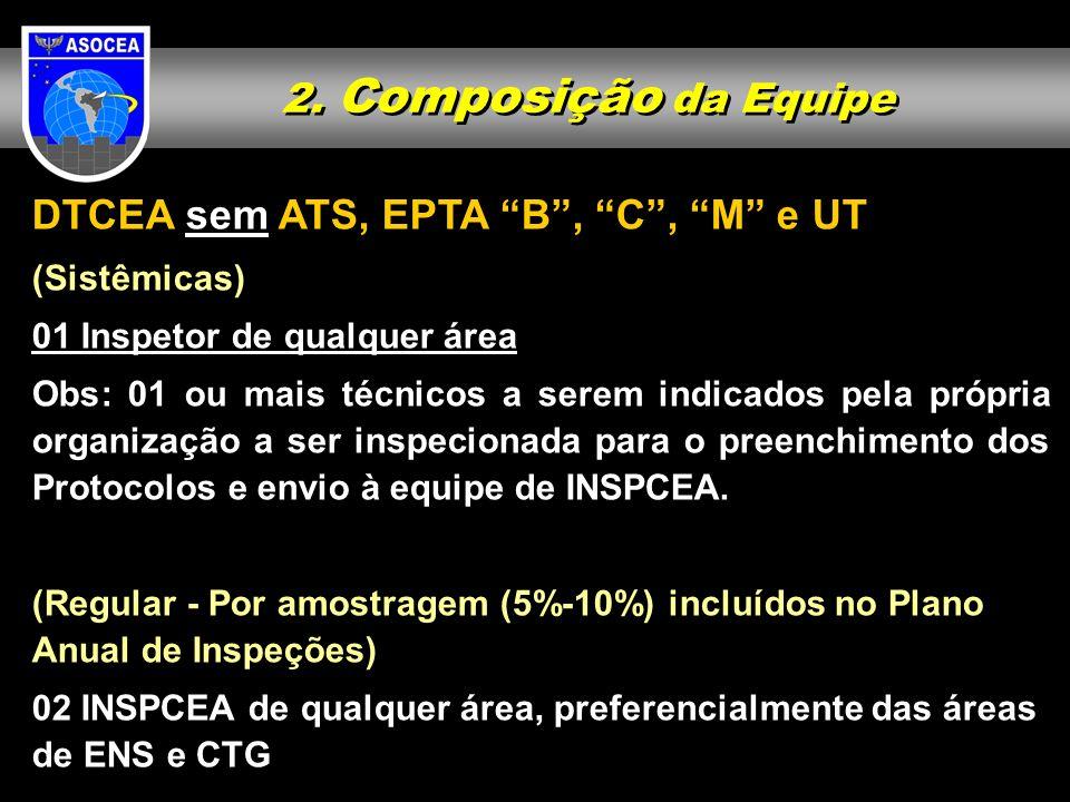 DTCEA sem ATS, EPTA B , C , M e UT