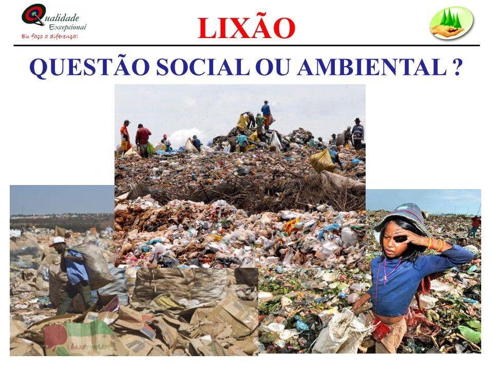 QUESTÃO SOCIAL OU AMBIENTAL