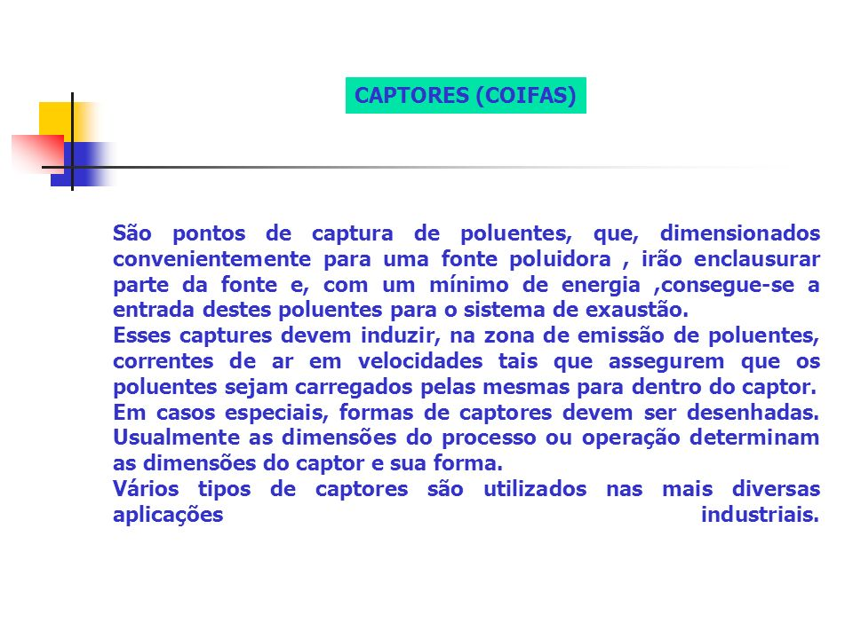 CAPTORES (COIFAS)