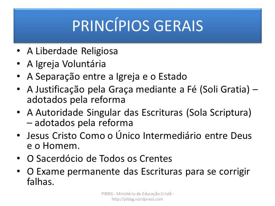 PIBBG - Ministério de Educação Cristã - http://pibbg.wordpress.com