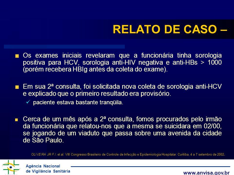 RELATO DE CASO –