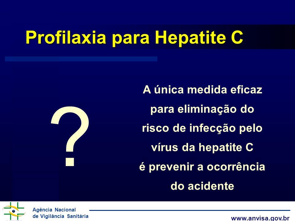 Profilaxia para Hepatite C