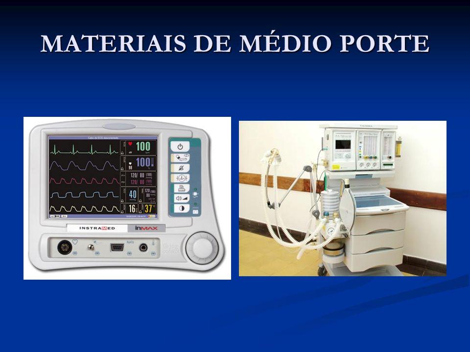MATERIAIS DE MÉDIO PORTE