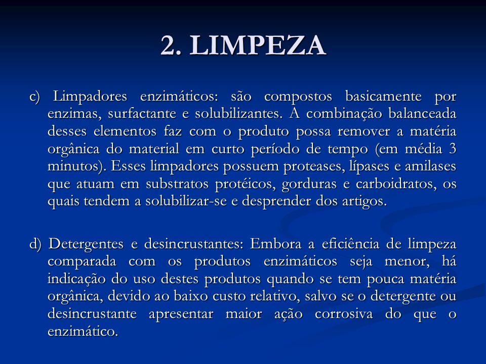 2. LIMPEZA
