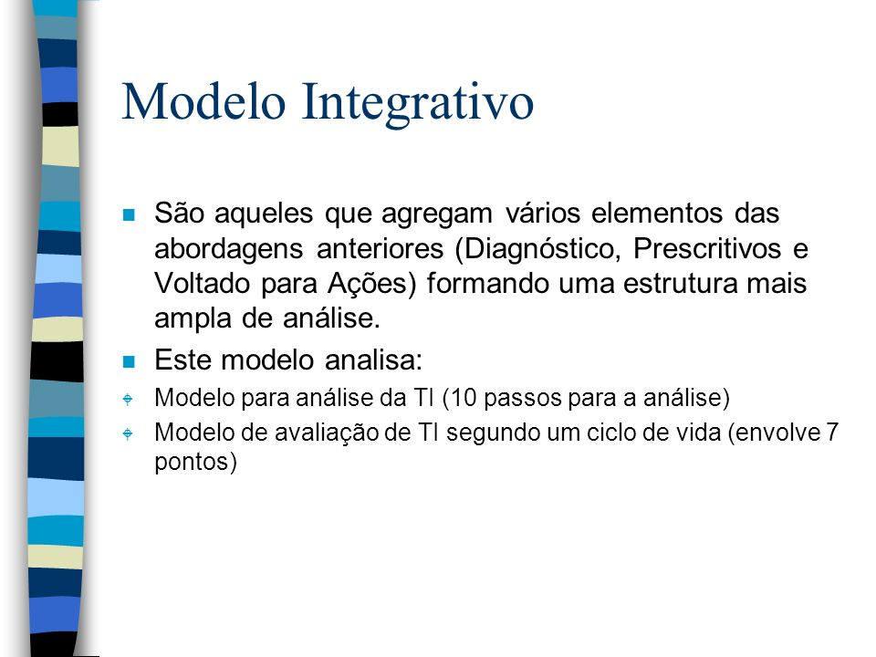 Modelo Integrativo