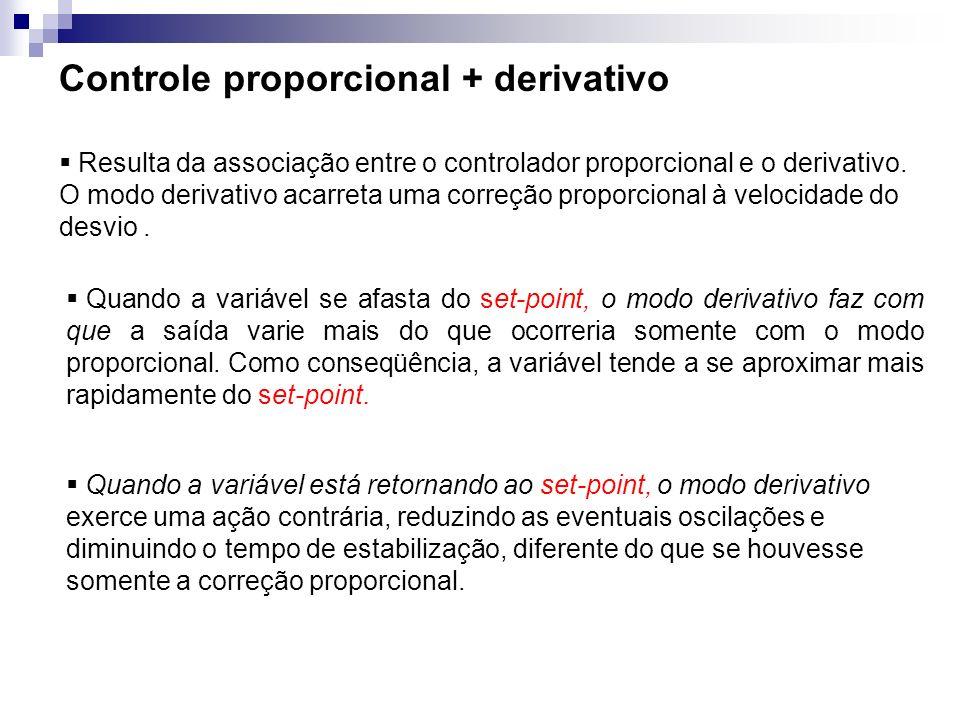 Controle proporcional + derivativo